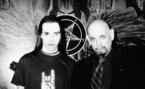 Brian Warner with Anton LaVey